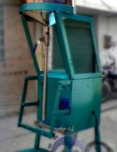 Selladora Vertical Modelo li8a electrónica polipropileno celofanes polietilenos